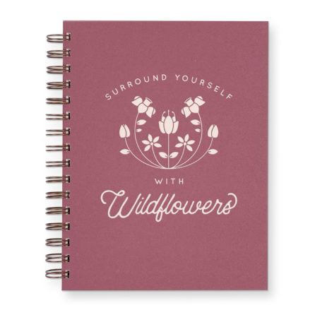 Wildflowers journal with wild berry cover