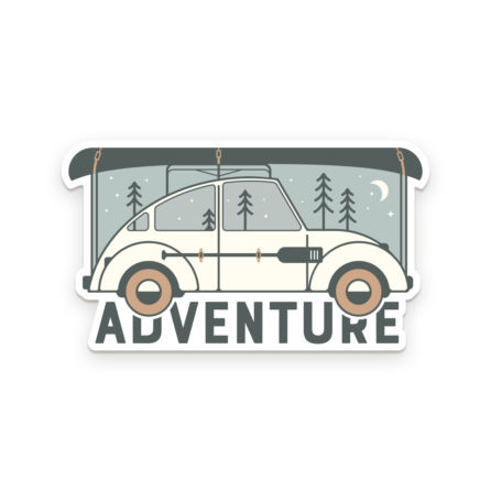 Adventure vinyl decal sticker